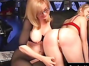 Younger Sunny Lane Punished By Almost Granny..