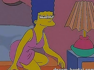 Lesbian Hentai - Lois Griffin and Marge Simpson..