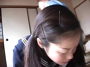 179 Decent Manner - Mom spanks schoolgirl for..