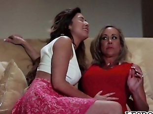 Melissa Moore and Brandi Love share a secret