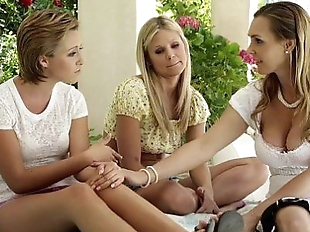Scarlet Red, Tanya Tate and Bailey Bae at Mommys..