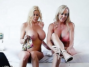 Brandi Love & Alexis Fawx Rim, Kiss and..